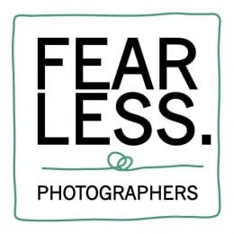 Wedding photographer Dino Gomez's Fearless Photographers membership badge