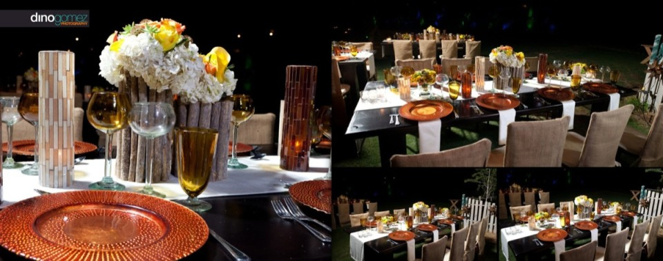 Simply gorgeous event decor and layout shot by photographer Dino Gomez