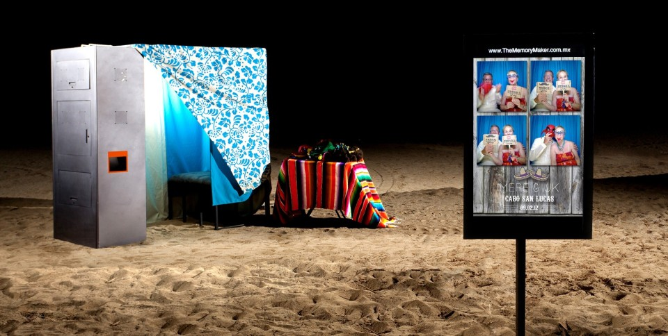 Photo booth Rental in Los Cabos by Dino Gomez Photography