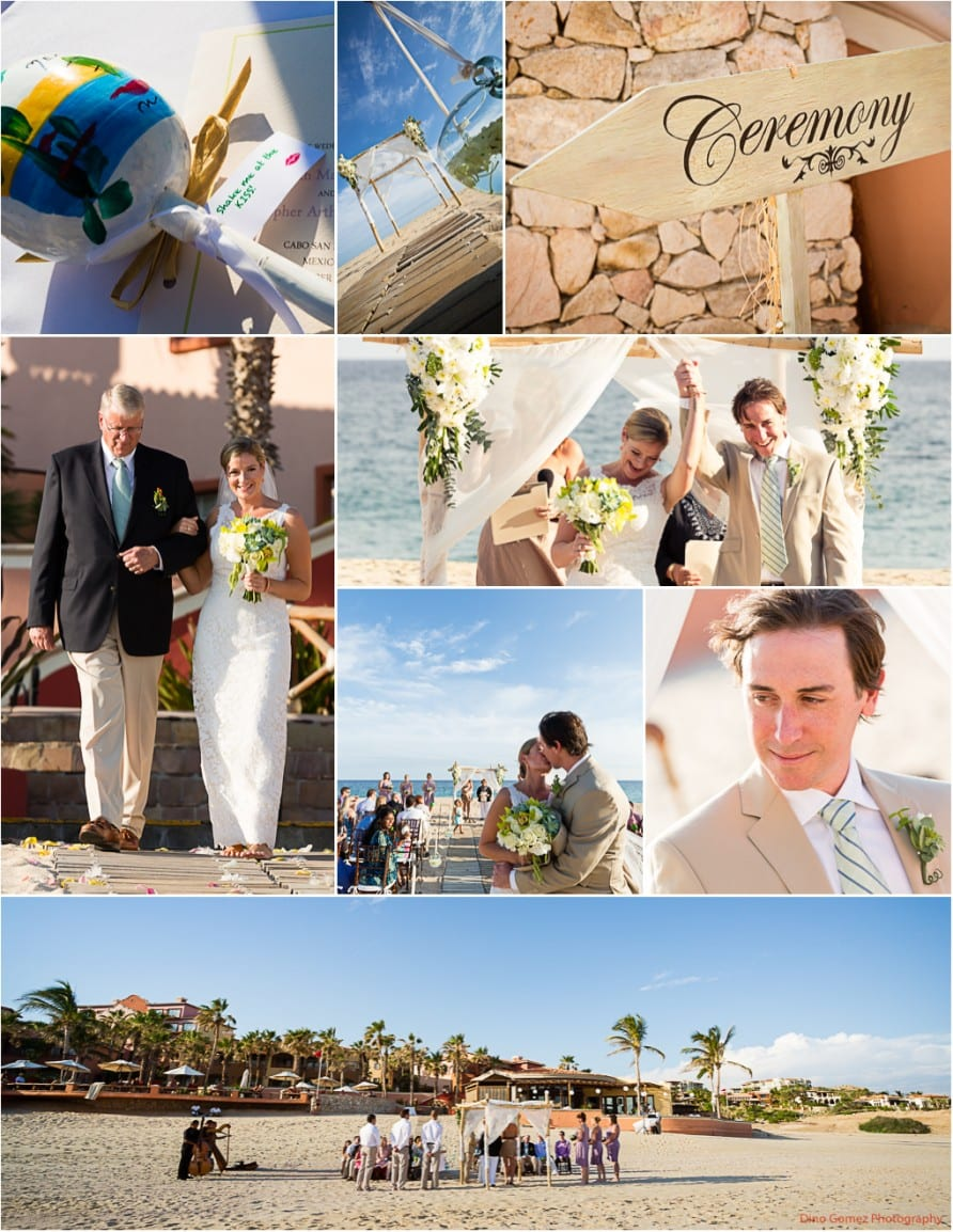 An intimate Mexican beach wedding with sand tone and a laid back vibe by wedding photographer Dino Gomez