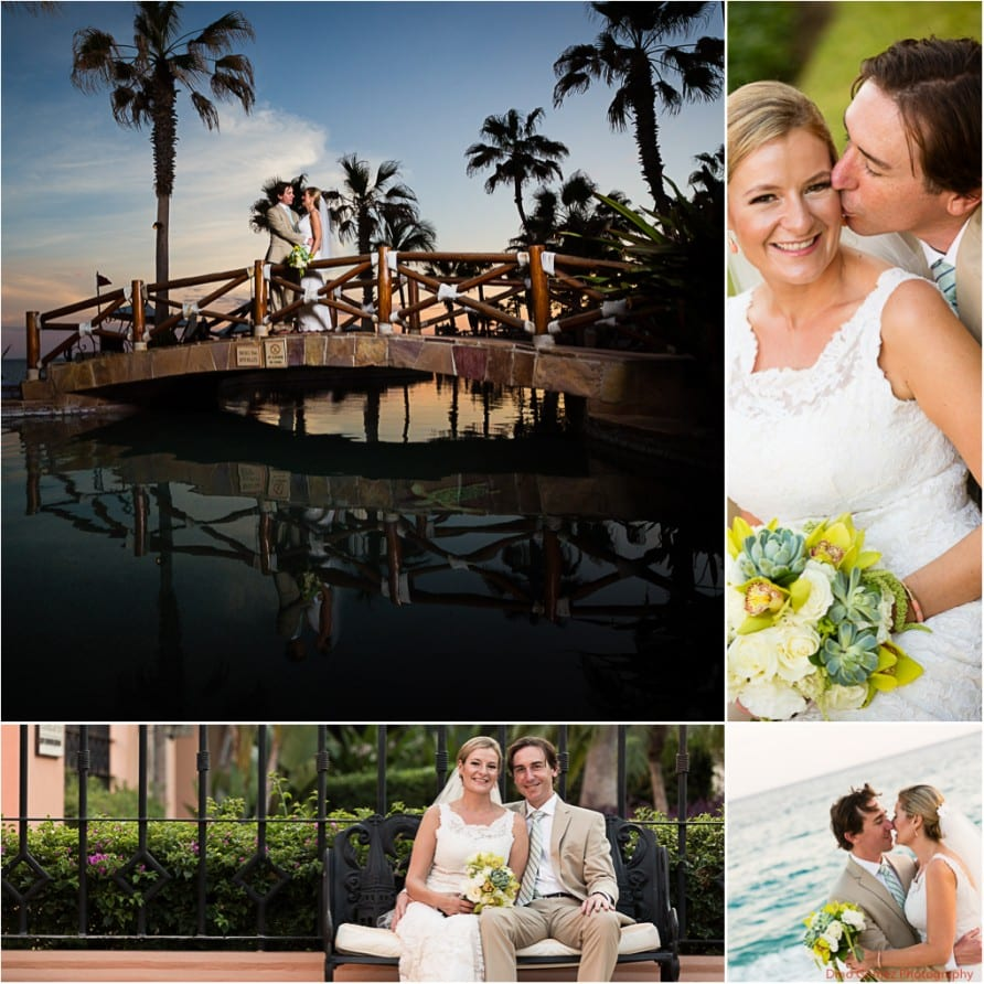 Gorgeous shots of the newlyweds enjoying the peaceful atmosphere and their time together in Mexico