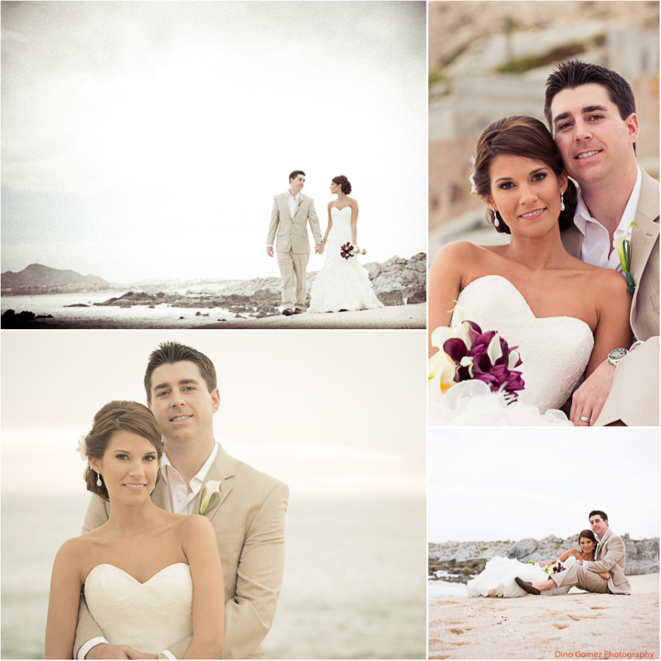 A stunning collection of images showing a loving couple in Cabo San Lucas, Mexico