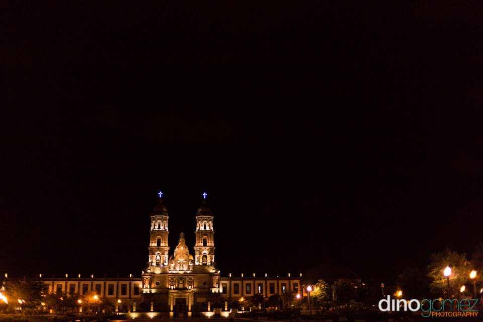 A shot of a beautiful building in Guadalajara from the talented photographer in Playa del Carmen Dino Gomez