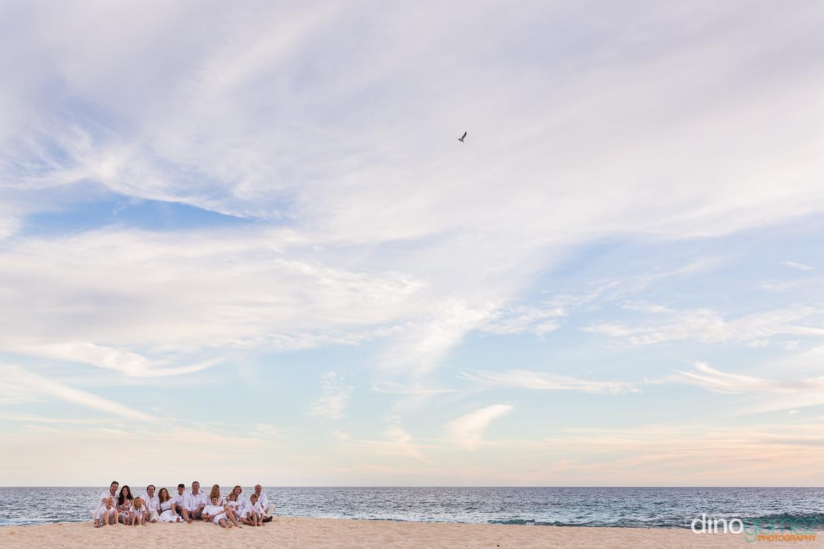 Adorable Beach Family Shot By Photographer In Playa Del Carmen Dino Gomez