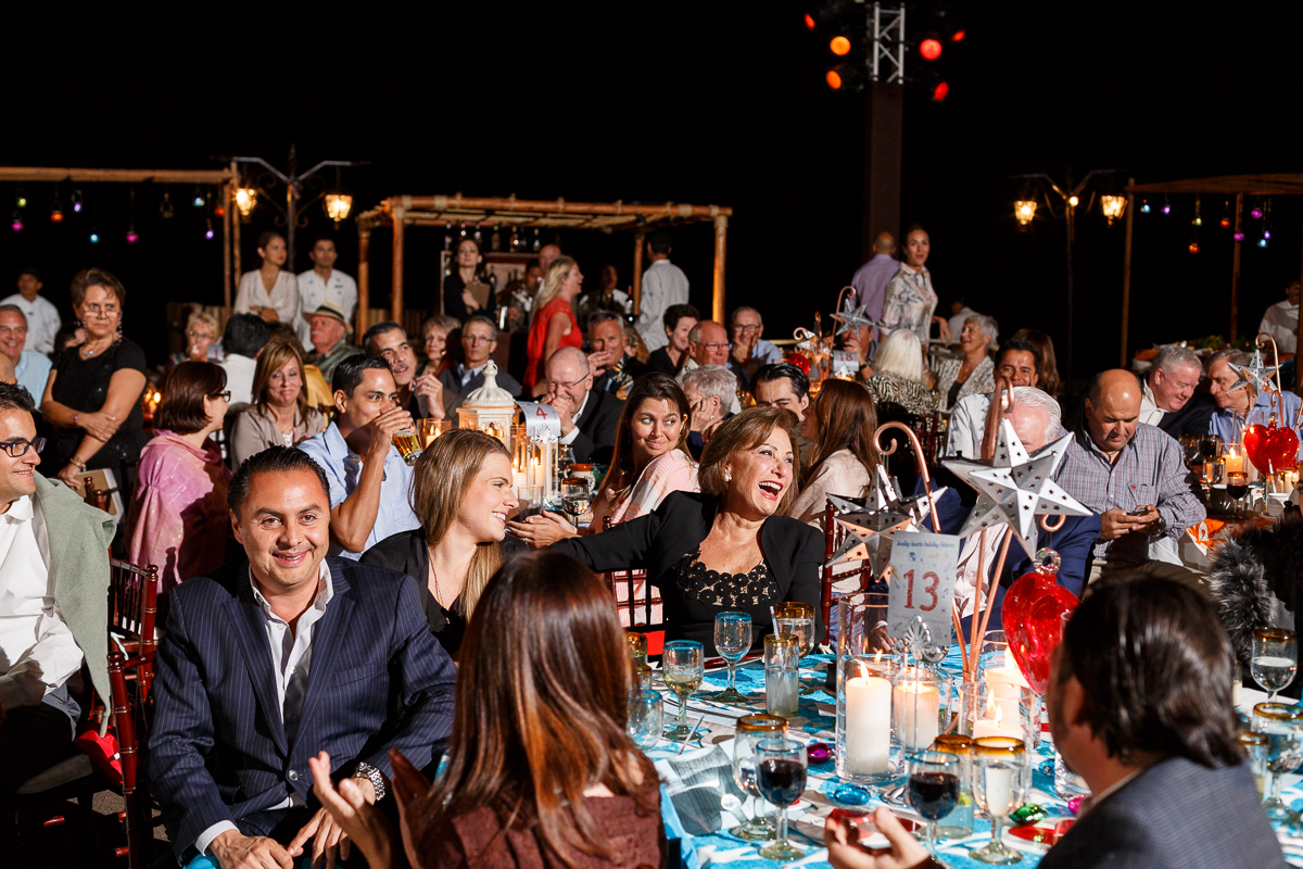 A Shot Of The Guests At A Fundraiser In Mexico By Photographer Dino Gomez