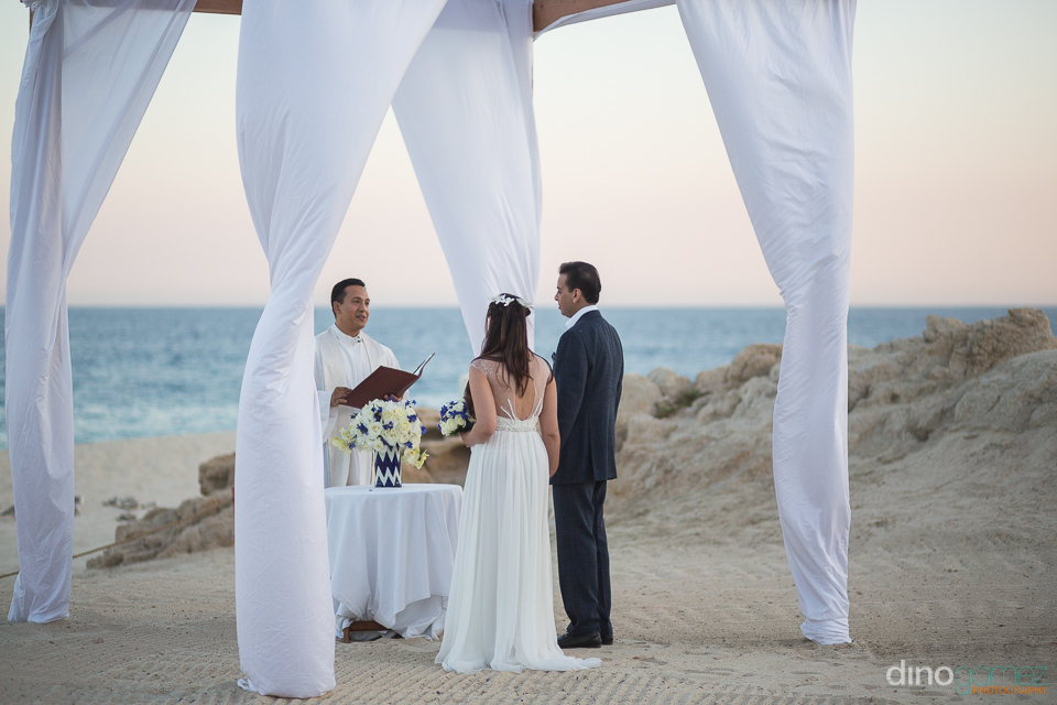 Proposal and Intimate wedding at Las Ventanas Los Cabos