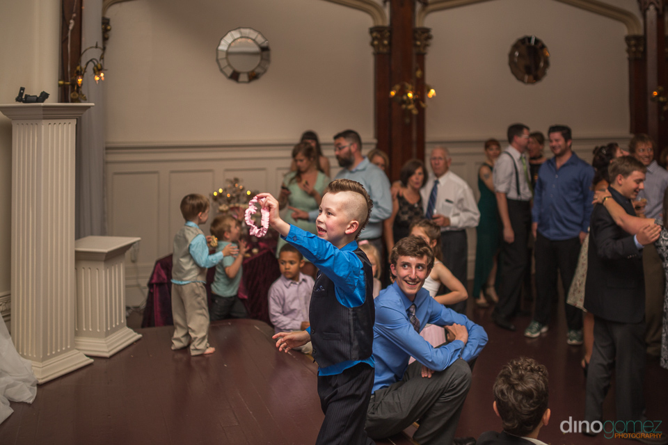 kid with the garter