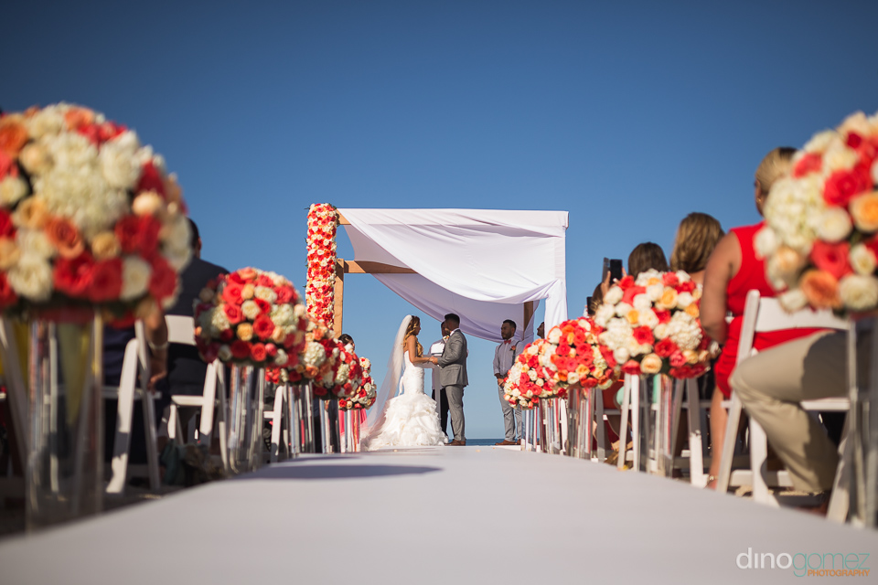 wedding ceremony hilton los cabos