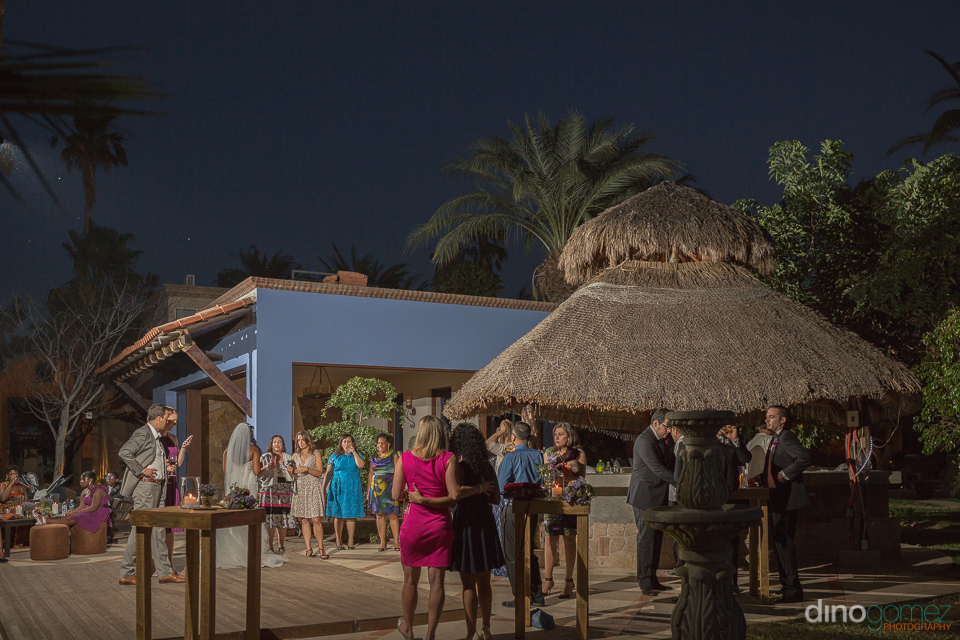 wedding cocktail hour - Wedding Photographer in Mexico