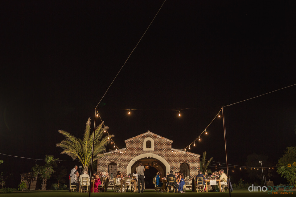Flora Farm Mango Grove wedding reception by Cabo Photographer