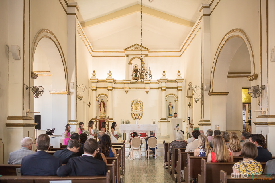 Mision San Jose Wedding Ceremony