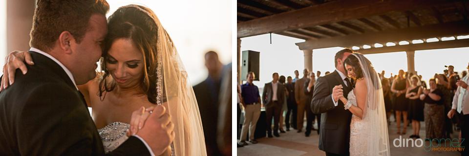 Bride And Groom First Dance Hacienda Encantada Wedding