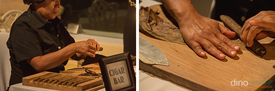 Cigar Roller Hacienda Encantada Wedding
