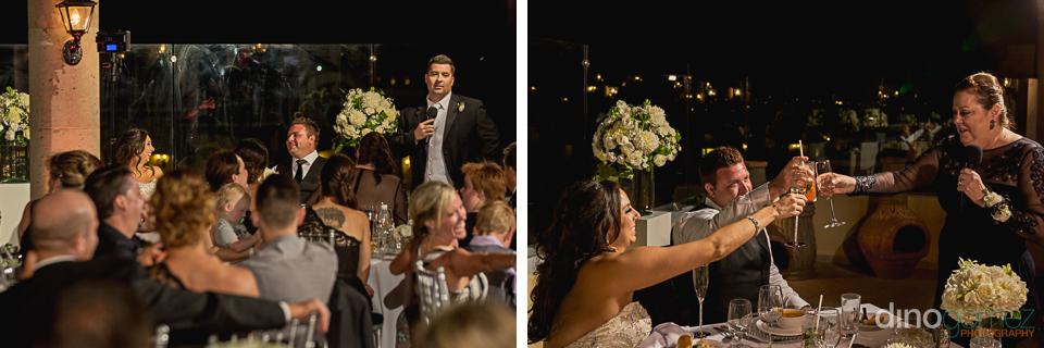 Reception Toast Hacienda Encantada Wedding