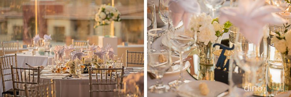 Tables Details Hacienda Encantada Wedding