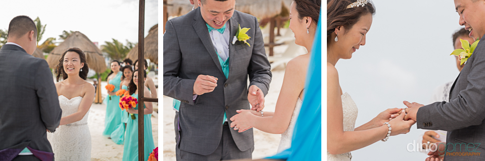 Wedding ceremony dreams riviera cancun