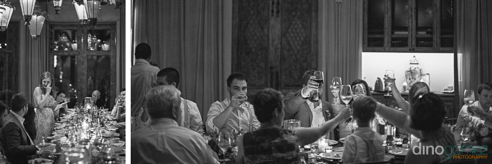 Photographer Cabos Dinner Toast