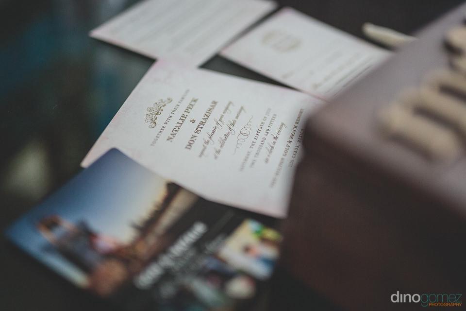 Classy wedding invitations photo by dino gomez