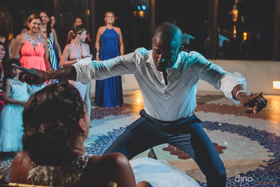 Wedding lap dance