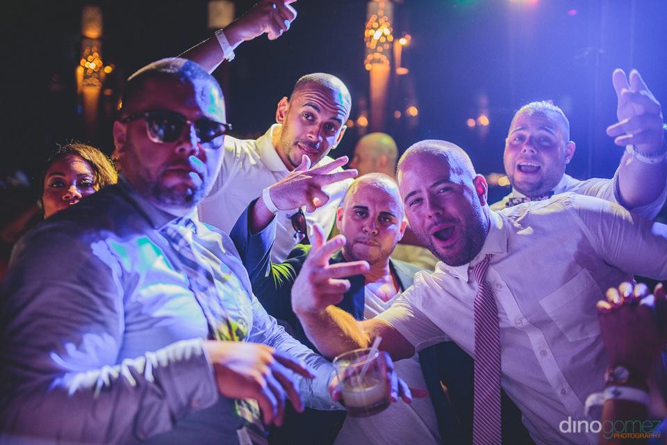 Cabo DJ groomsmen party