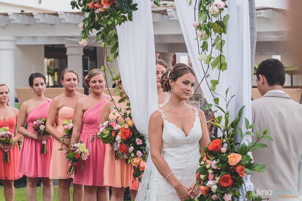 Graceful wedding photo