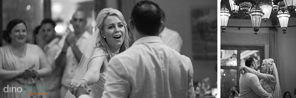 premier cabo photographer dino gomez black and white wedding pho