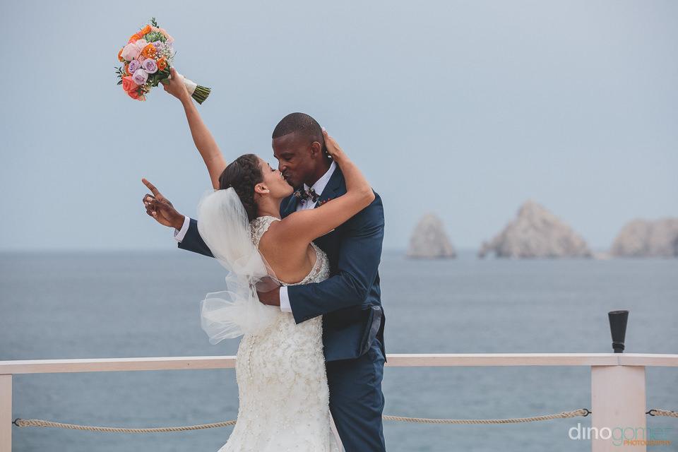 Cabo arch wedding