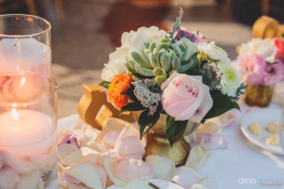 Cabo wedding planners wedding flowers