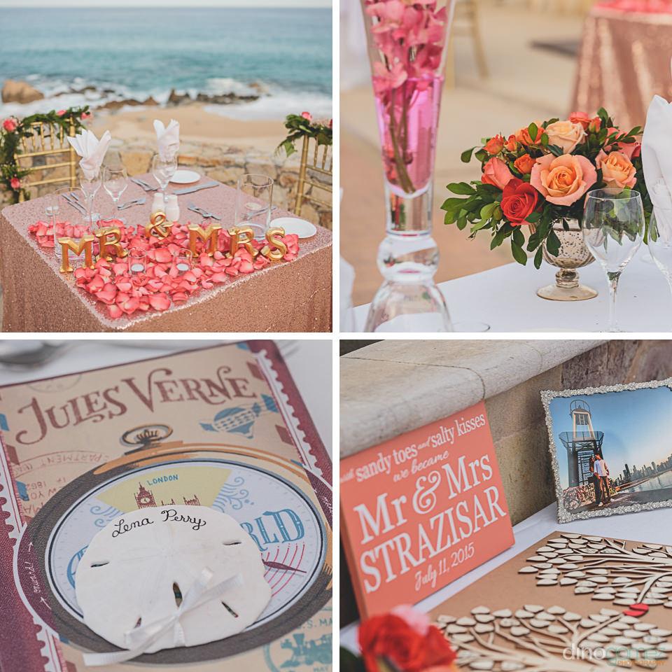 Wedding dinner table Karla Casillas
