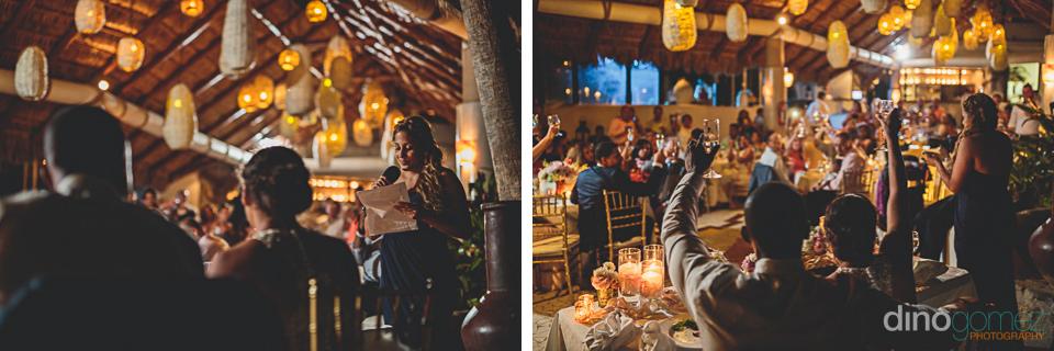 Wedding toast Cabo