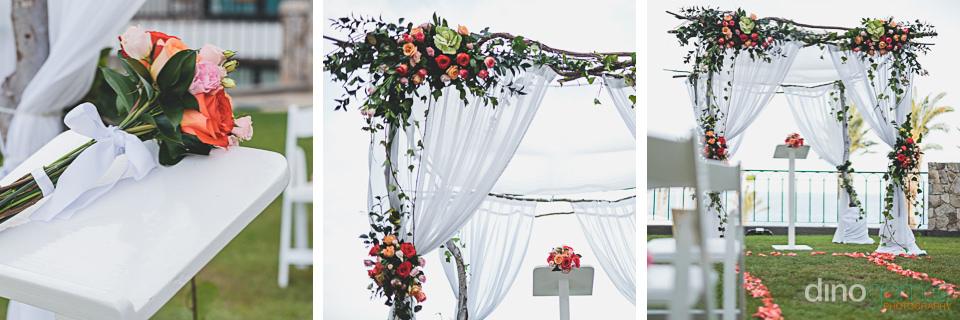 Cabo rentals wedding altar