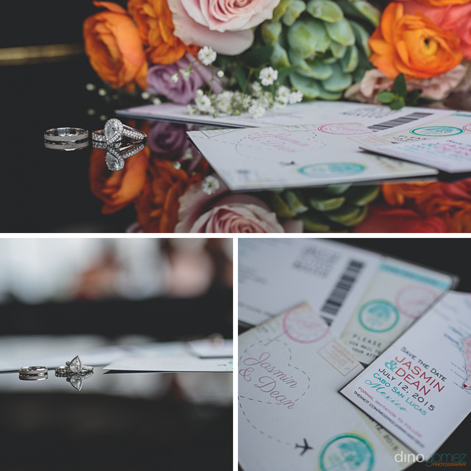 Wedding invitations Cabo San Lucas