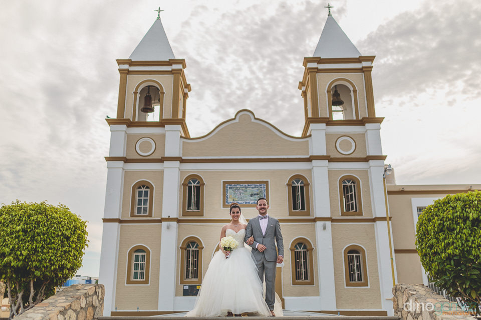cabo wedding venue mision san jose del cabo church