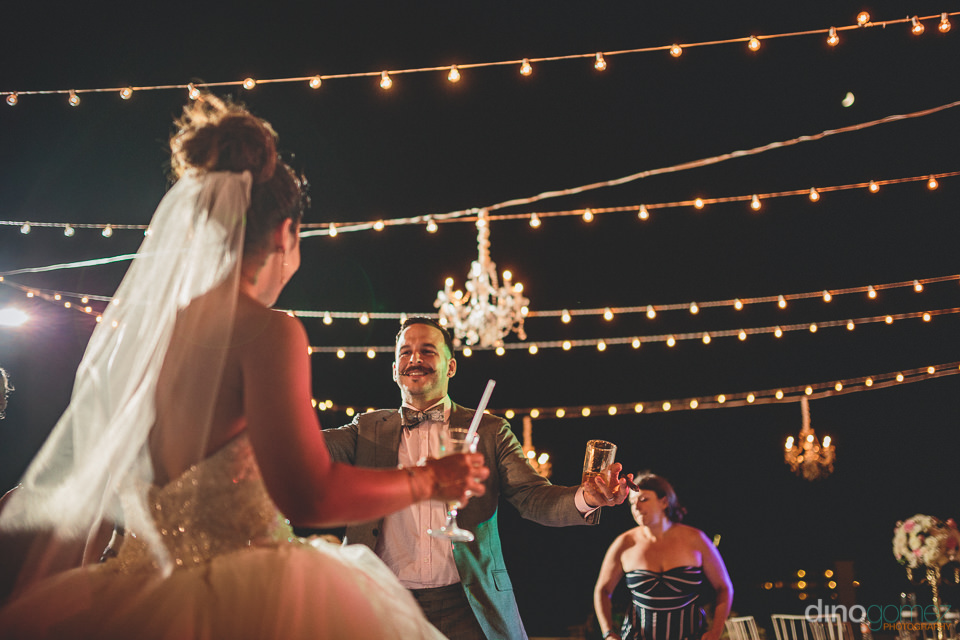 beautiful wedding lighting and chandeliers