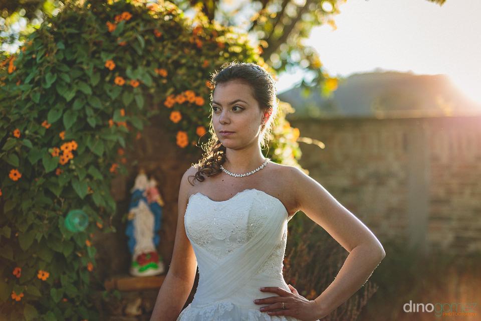 bride at south american destination wedding photo by dino gomez