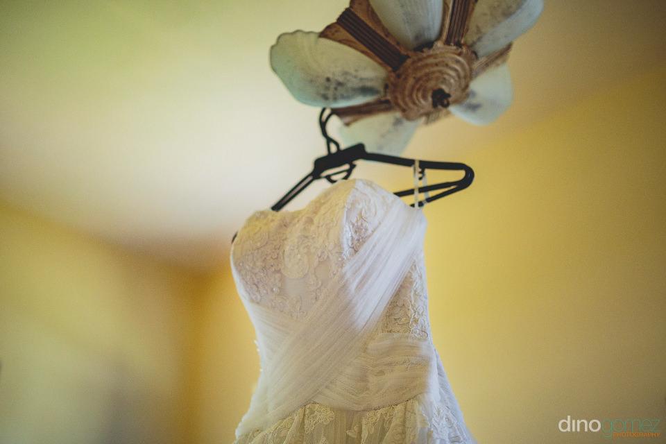 flora farm white wedding dress