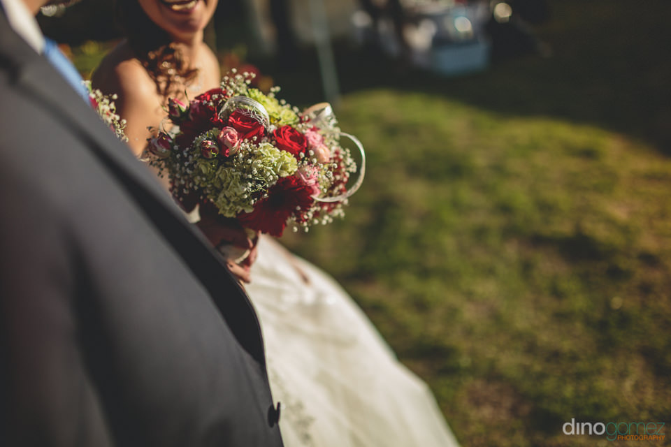 earthy bridal bouquet colors photo by dino gomez