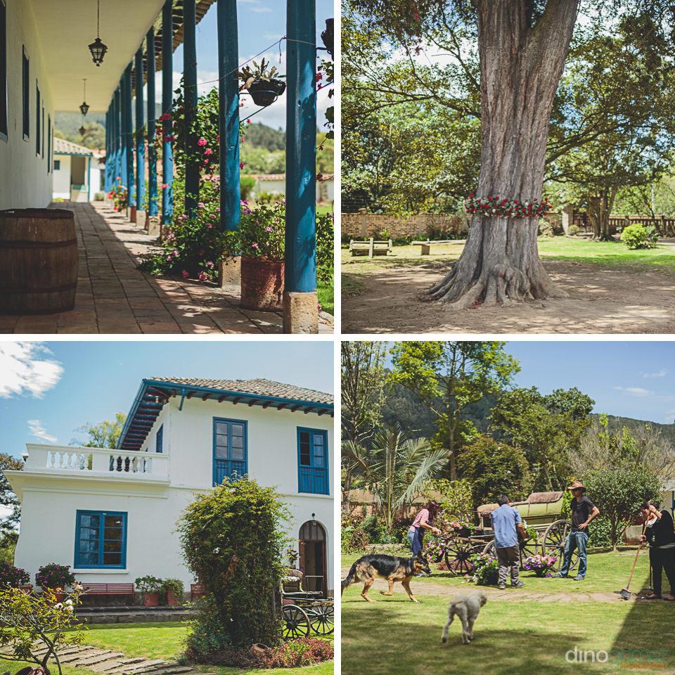 una hacienda hermosa – foto por dino gomez