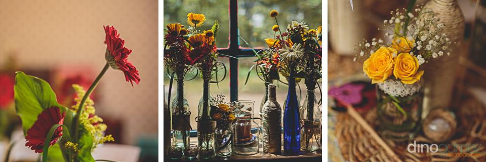 diy do-it-yourself wedding flowers