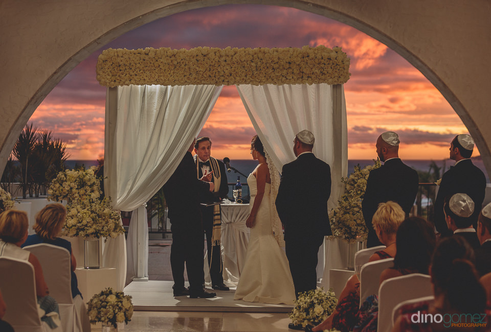 los cabos jewish wedding ceremony photographed by dino gomez