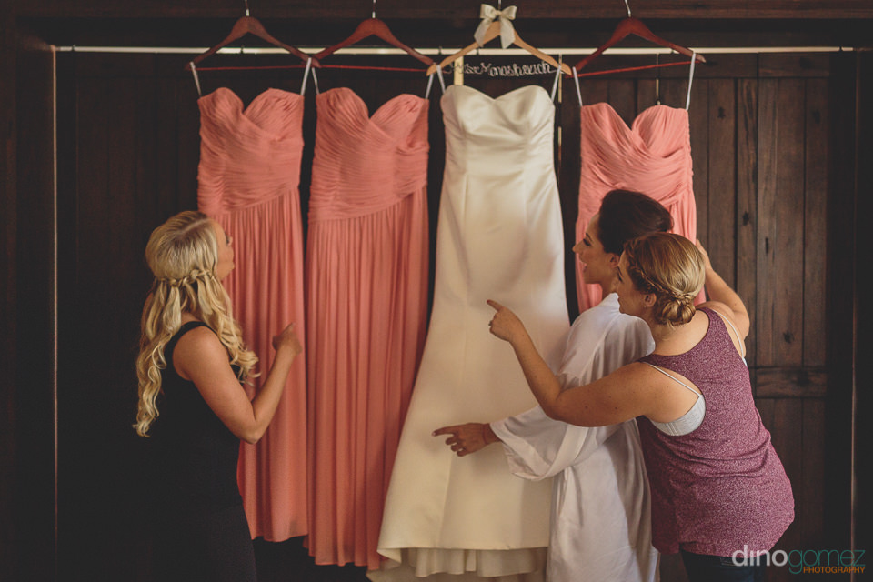 jewish bridal and bridesmaid gown dresses cabo san lucas
