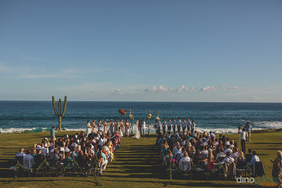 perfect cabo beachside wedding photo
