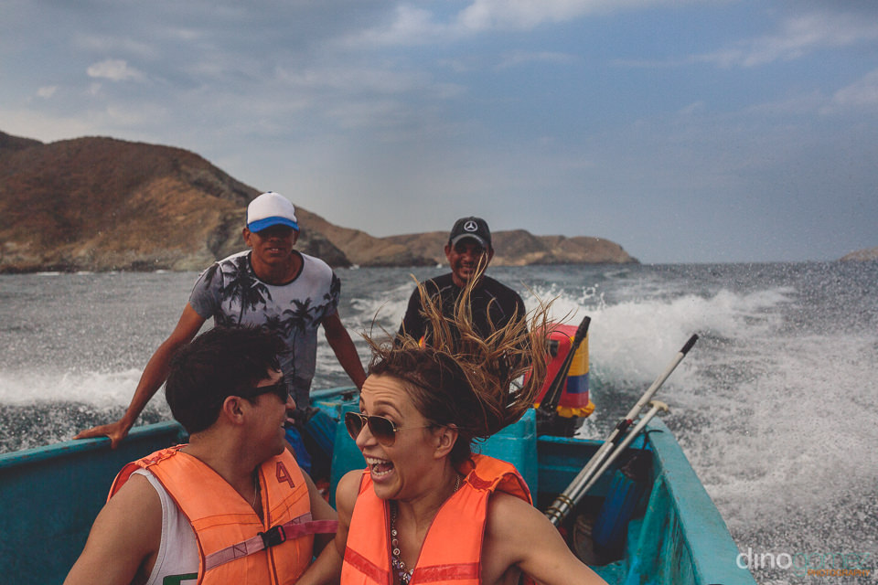 thrilling parque tayrona colombia boat ride photographed by best