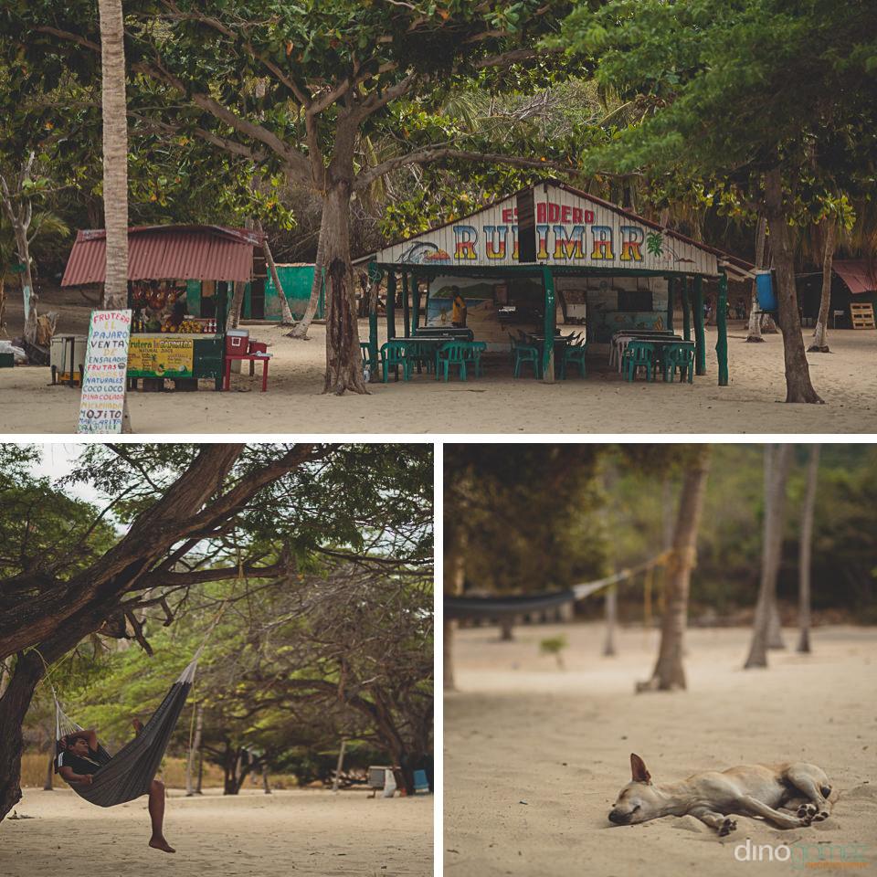 fun simple rustic natural colombian beach bar location for weddi
