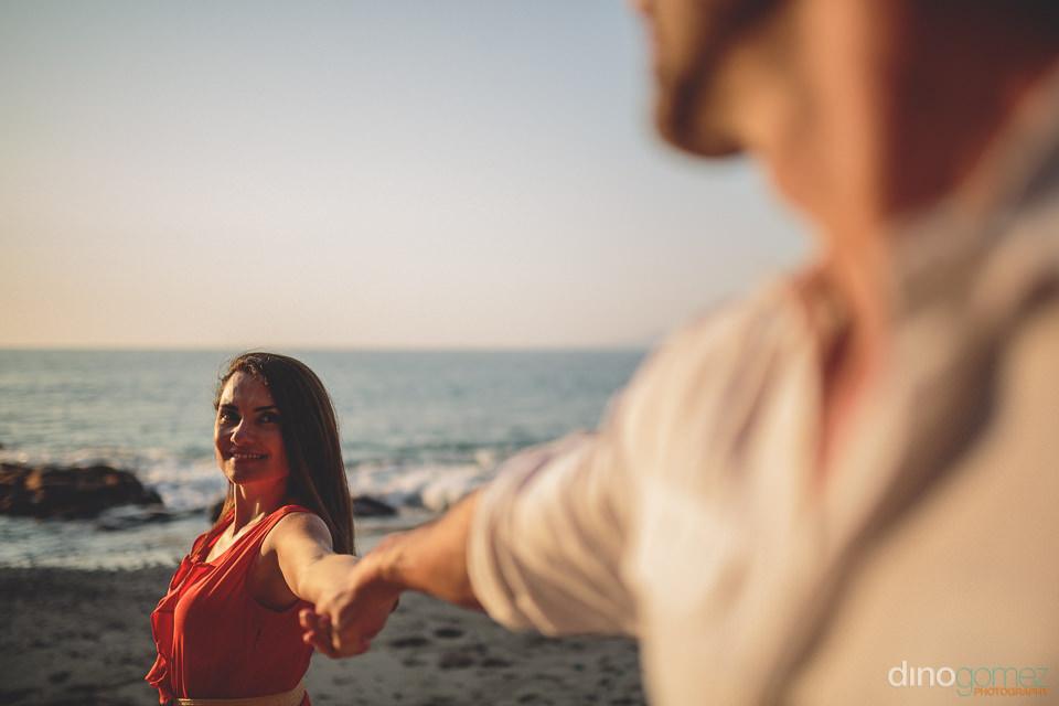 destination wedding photo session on beach in puerto vallarta by