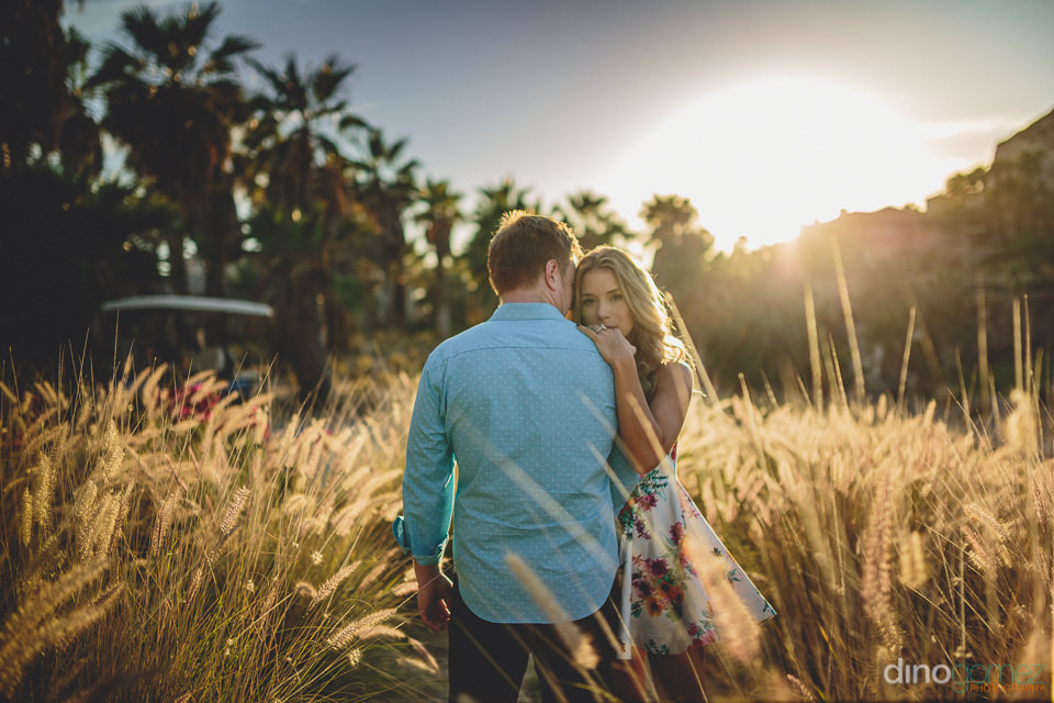 engagement photo session at el dorado golf and beach club los ca