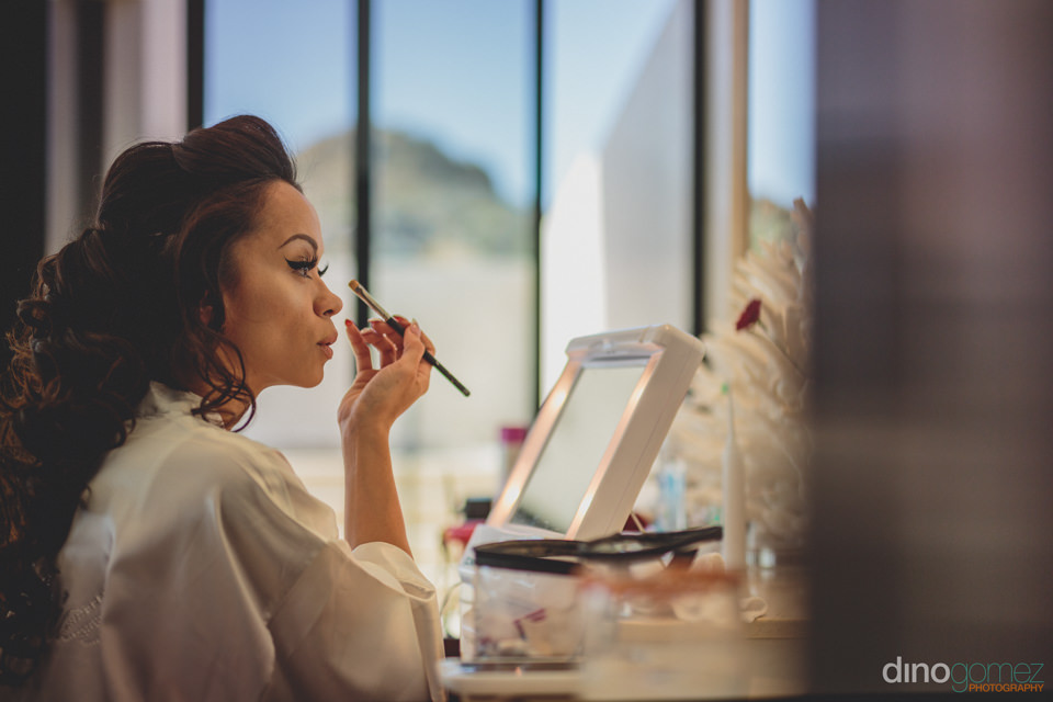Bride Does Her Own Makeup With Photos And Video By Dino Gomez