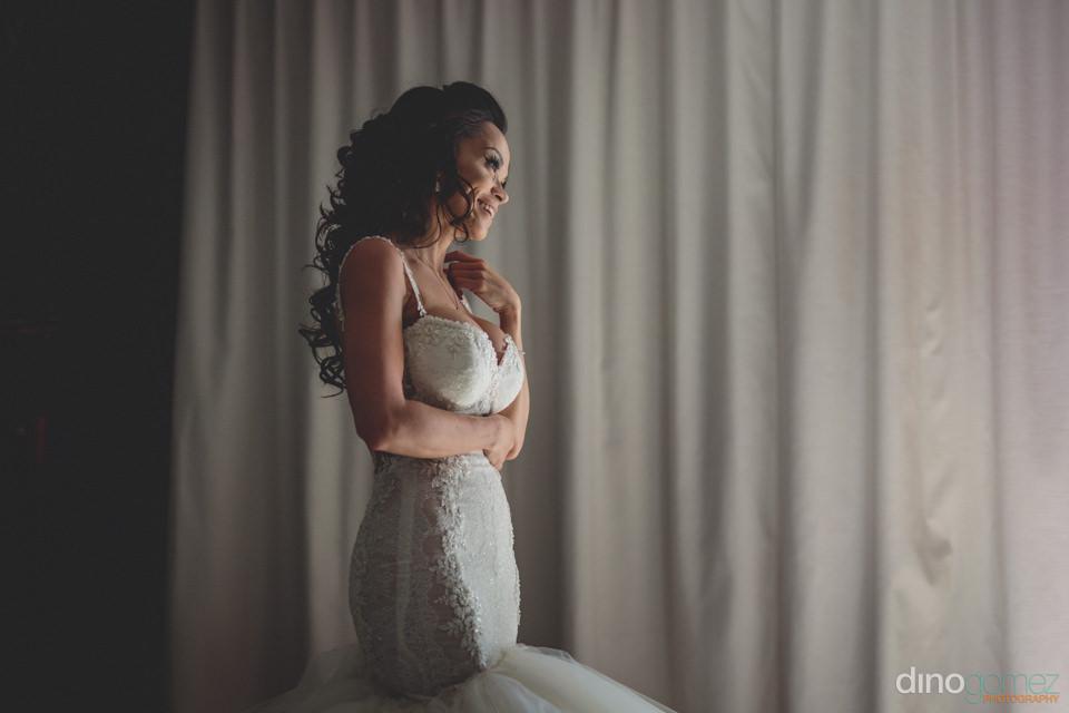 perfect beautiful bride at jw marriott hotel in puerto los cabos
