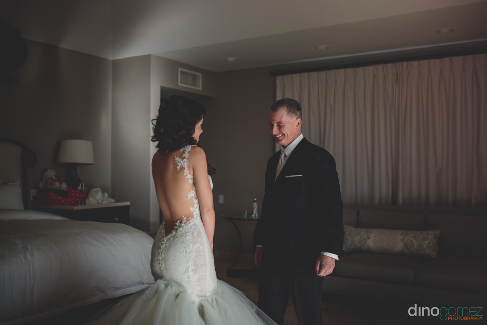 Bride In Dress Leaves Groom Speechless With Her Beauty