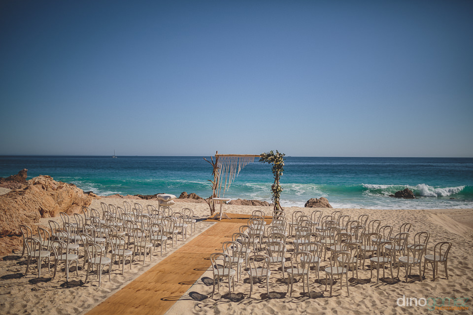 el dorado los cabos beach wedding ceremony